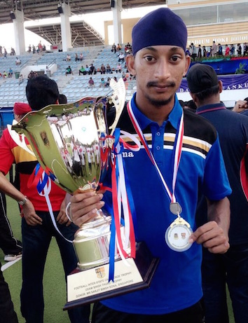 Harmeet Singh from Ipoh, Perak, makes the first cut to join Malaysia's national senior hockey team.
