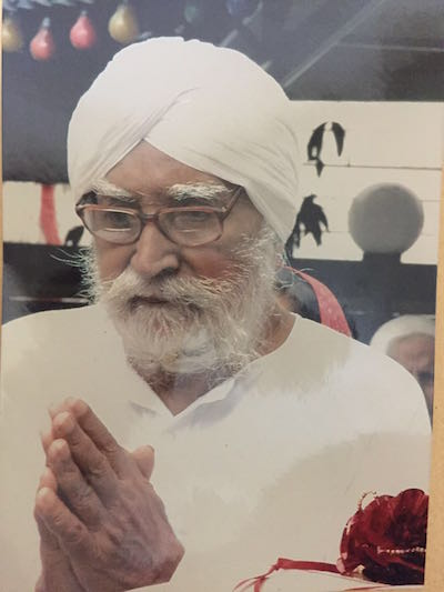 Jagjit Singh, long-time granthi at Gurdwara Sahib Tanjung Malim - PHOTO / SUPPLIED