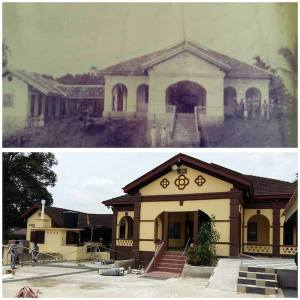 THEN AND NOW: Gurdwara Sahib Kuala Lipis contruction began in 1910 and was completed in 1916. - PHOTO / SUPPLIED