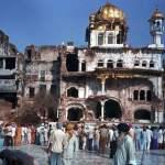 1984_Operation Bluestar_Akal Takht