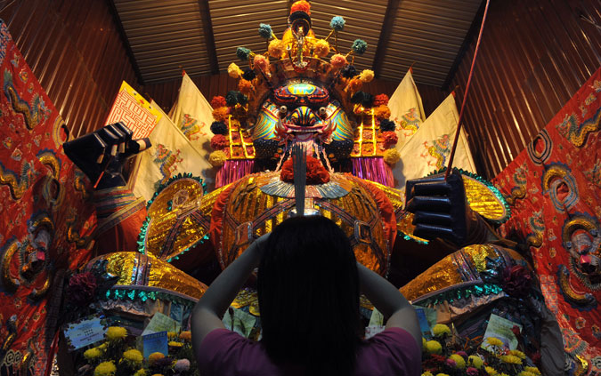 Photo of the Day The Hungry Ghost Festival  Asia Society