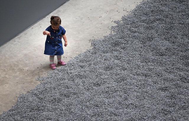 Ai Weiwei Unloads Millions of Sunflower Seeds on New York