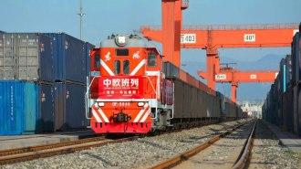 Доставка грузов из Китая ж/д транспортом в Россию