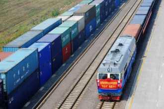 Железнодорожная доставка из Китая.