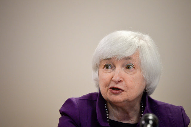 U.S. Federal Reserve Chair Janet Yellen. Photo: Reuters, Charles Mostoller