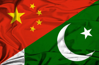 The Chinese and Pakistan flags. Photo: Asia Times graphic