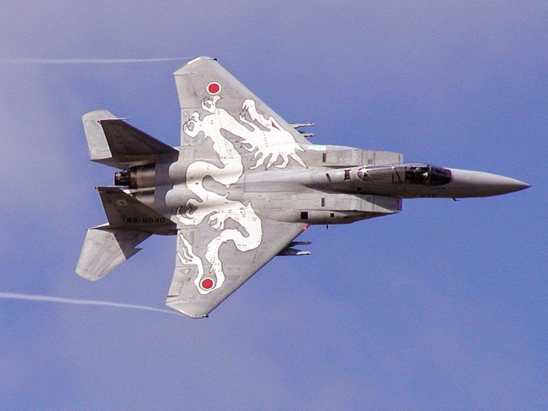 Japan F-15J fighter