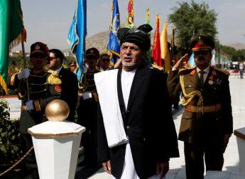 Afghan President Ashraf Ghani attends Afghan Independence Day celebrations in Kabul