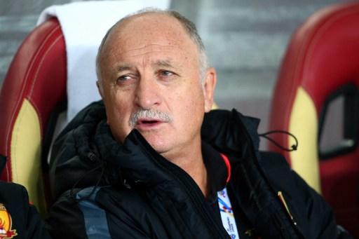 China's Guangzhou Evergrande's head coach Luiz Felipe Scolari is unsure about his future with the club. Photo: AFP