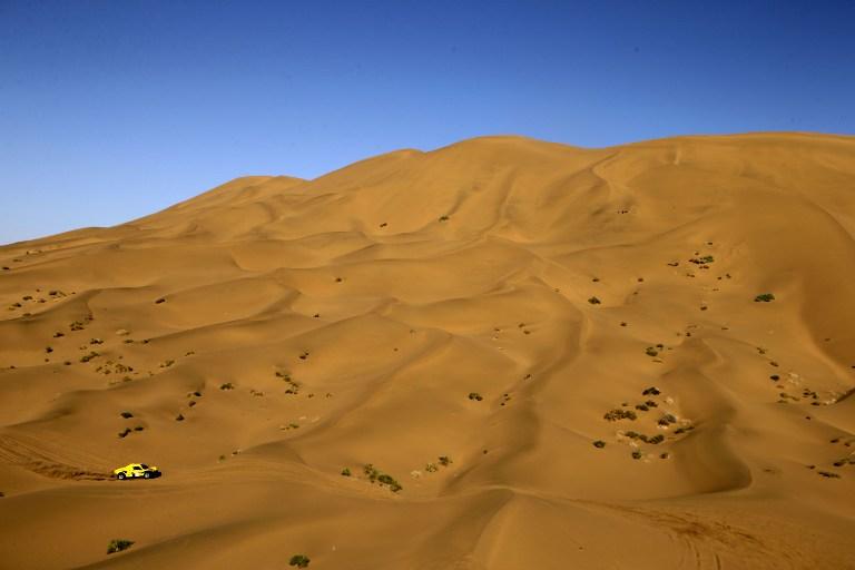 The desert course in Inner Mongolia. Photo: Patrick Baz