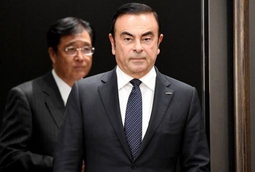 Sacked Nissan Motors chairman Carlos Ghosn. Photo: AFP