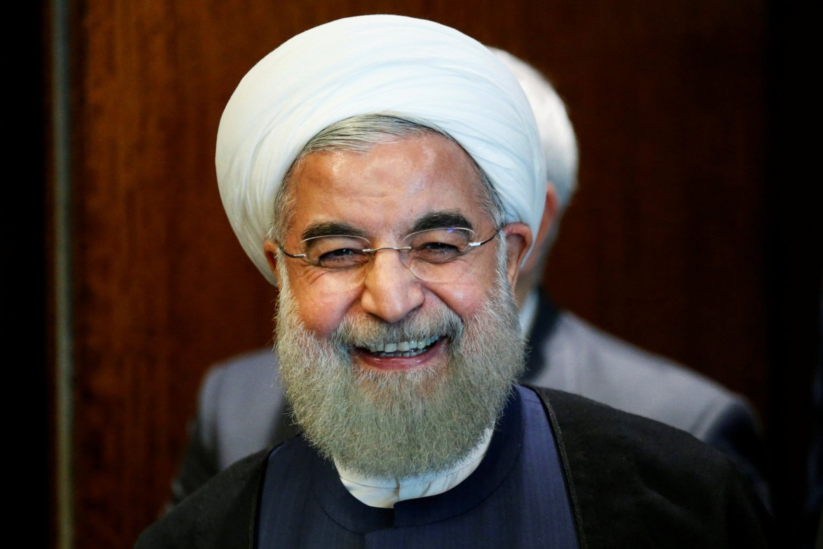 Iran's President Hassan Rouhani is viewed as a pragmatist. Photo: Reuters/Eduardo Munoz