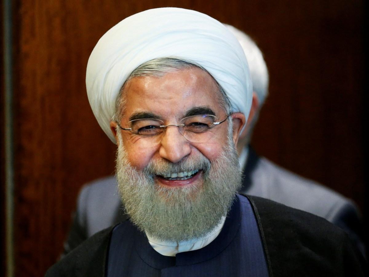 Iran's President Hassan Rouhani is viewed as a pragmatist. Photo: Reuters/Eduardo Munoz