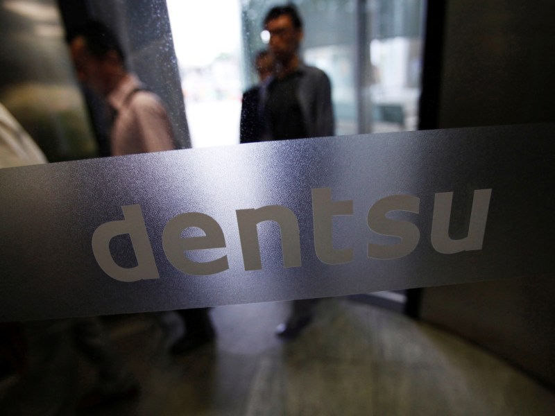 Negative focus: Dentsu under spotlight over working practices. Photo: Reuters