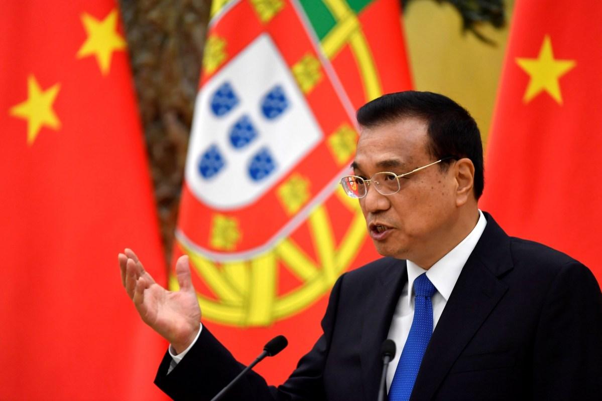 Chinese Premier Li Keqiang pledged to help Macau diversify its economy. Photo: Reuters