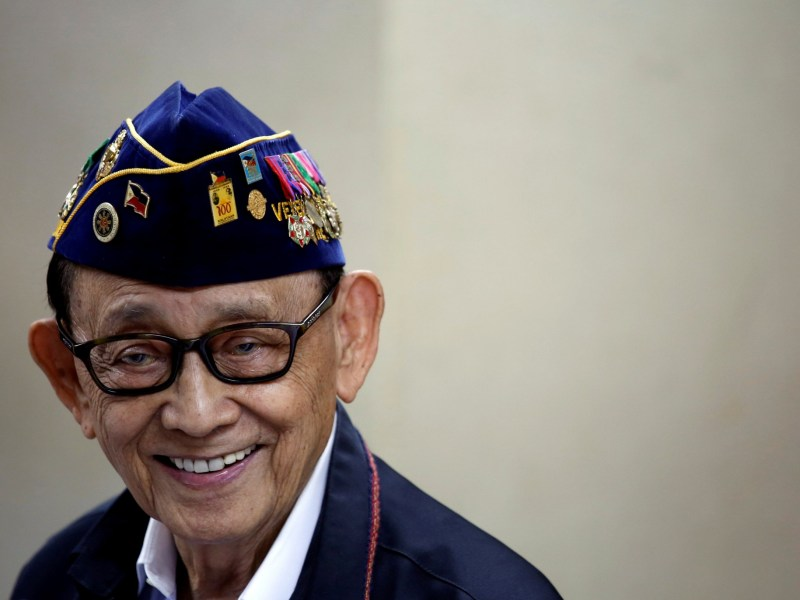 Former Philippine president Fidel Ramos says current leader Rodrigo Duterte's first 100 days in office have been a disappointment.  REUTERS/Tyrone Siu