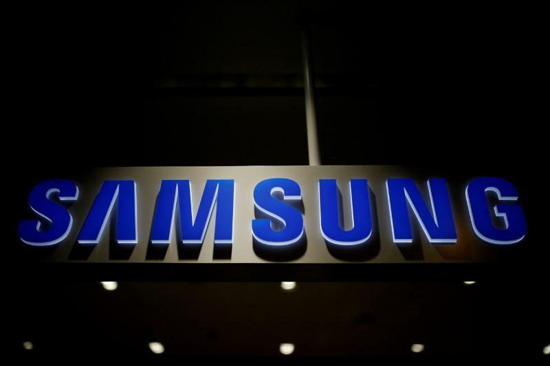 The logo of Samsung Electronics is seen at its headquarters in Seoul, South Korea, July 4, 2016. Photo: Reuters/Kim Hong-Ji/File Photo