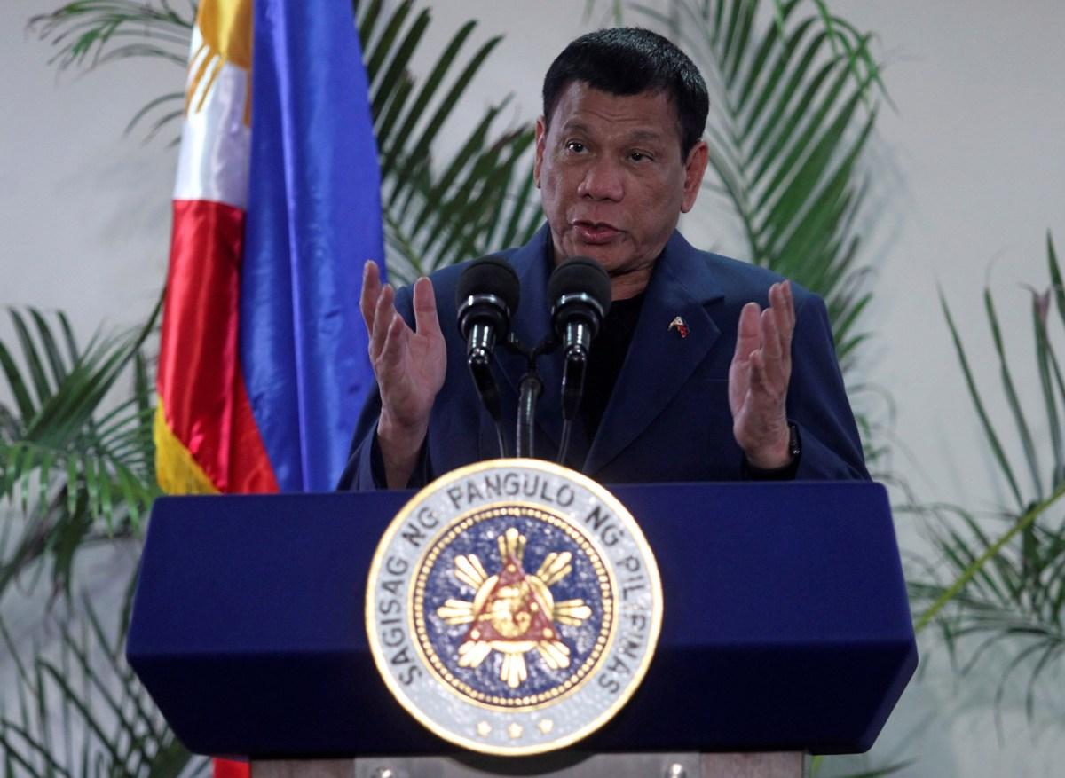 "Philippine President Rodrigo Duterte told Japanese media: ""The alliances are alive."" Photo: Reuters//Lean Daval Jr."