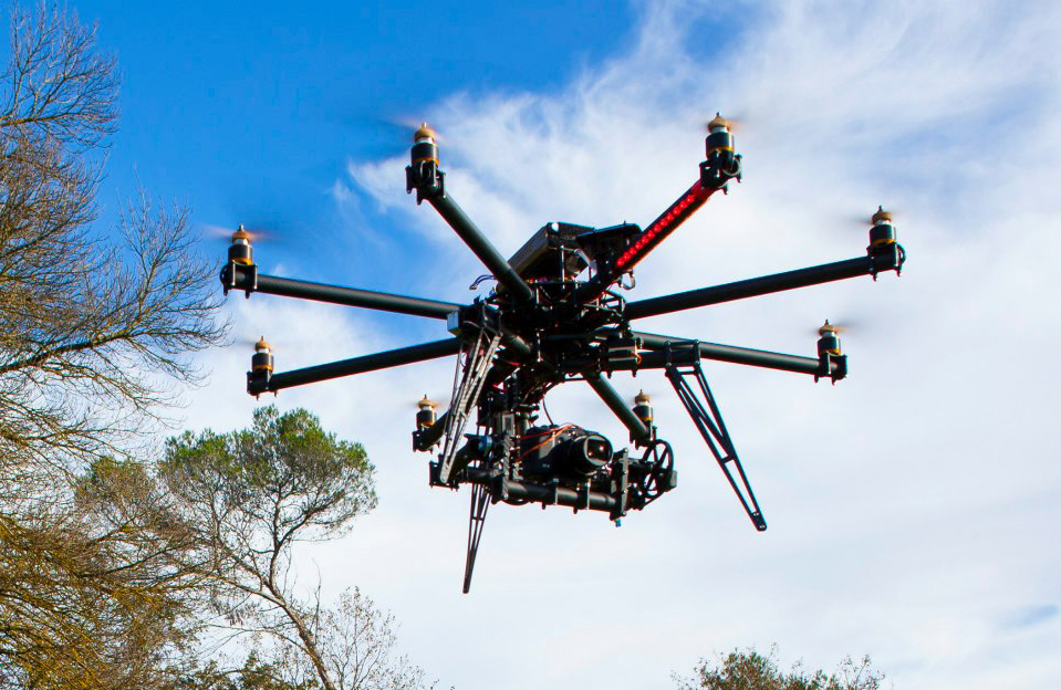 CineCopter II drone. Photo: Wikimedia Common