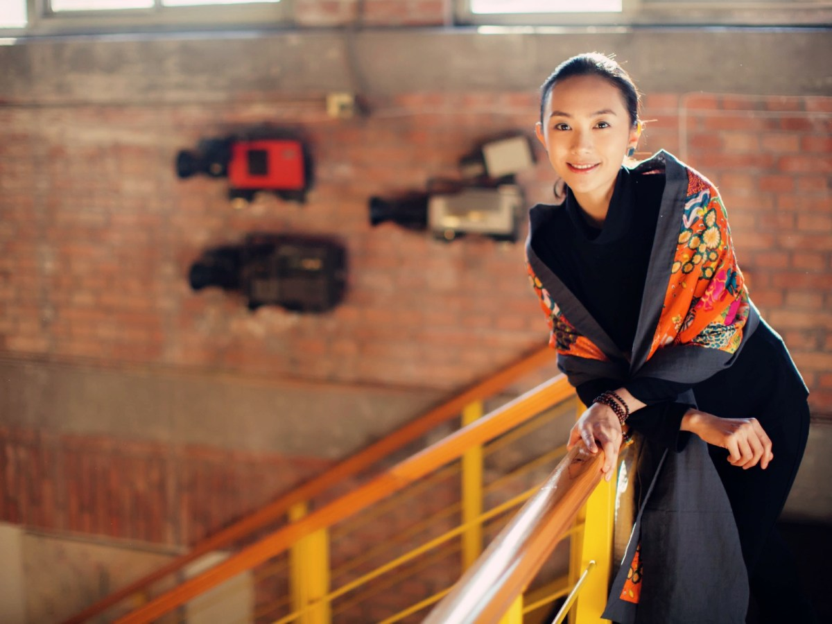 Liu Yulin's first film is an adaptation of one of her father's books. Photo: Reuters