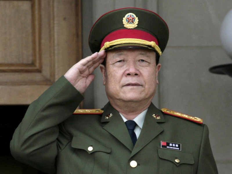 This tiger lost his stripes: General Guo Boxiong, former Vice Chairman of the Central Military Commission, was jailed for life in July 2016 for graft. Seen here in a 2006 photograph. Photo: Reuters/Yuri Gripas