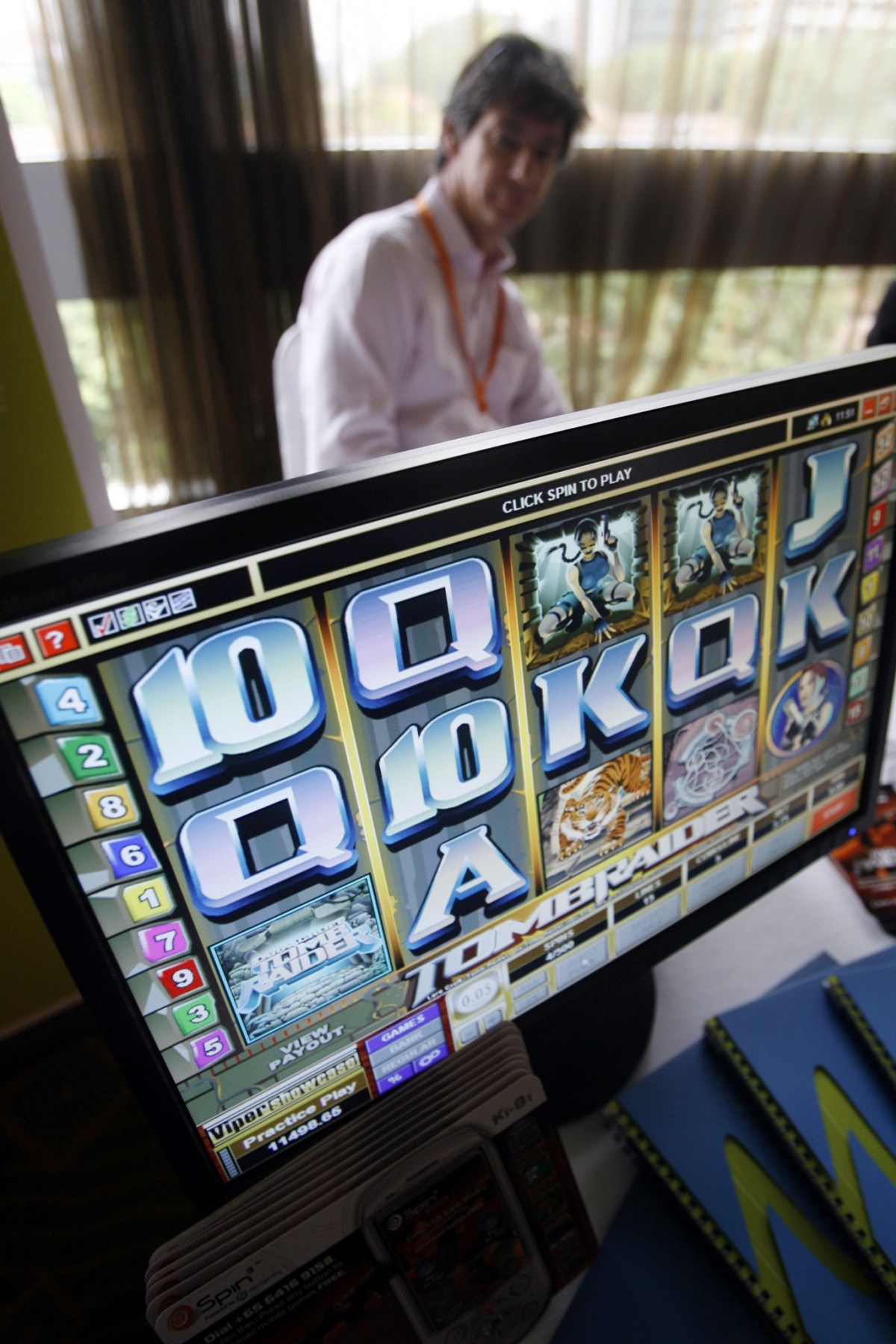 Gambling is illegal in China except in state-sanctioned lotteries. Photo: AFP