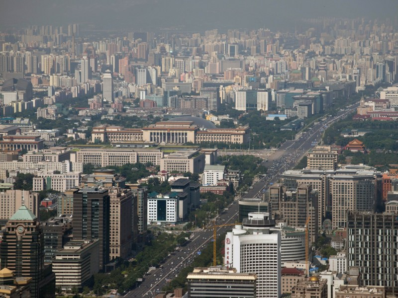 In a new survey of expats, Beijing is seen as the best city in Asia in which to make money. Photo: AFP/Ed Jones