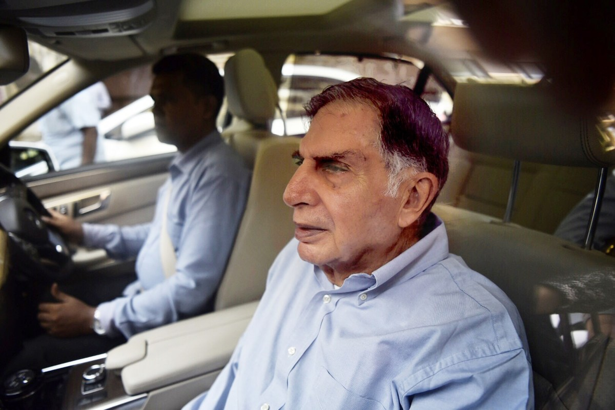 Ratan Tata, interim chairman of the Tata group of industries. Photo: AFP/The Times of India
