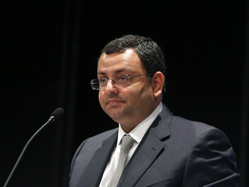 Former Tata Group chairman Cyrus Mistry. Photo: Reuters/Vivek Prakash