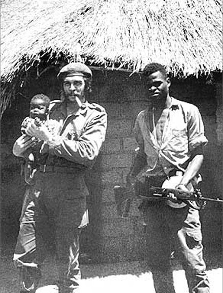 Che Guevara during an intervention in the Congo. Photo: Wikimedia Commons