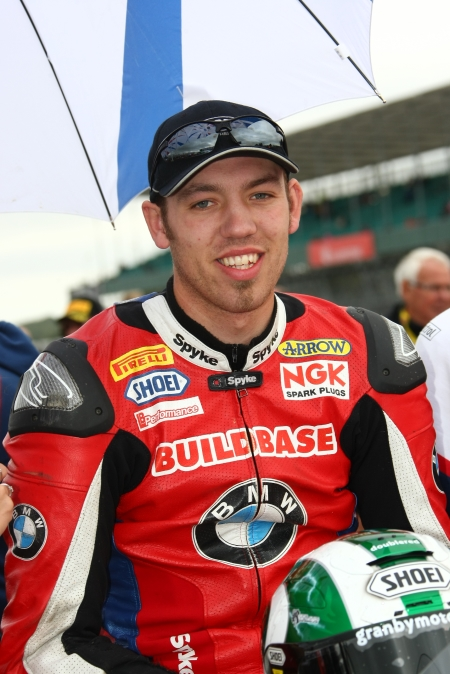 Peter Hickman in a 2013 file photo a day before the first race of the season at Brands Hatch in the UK.