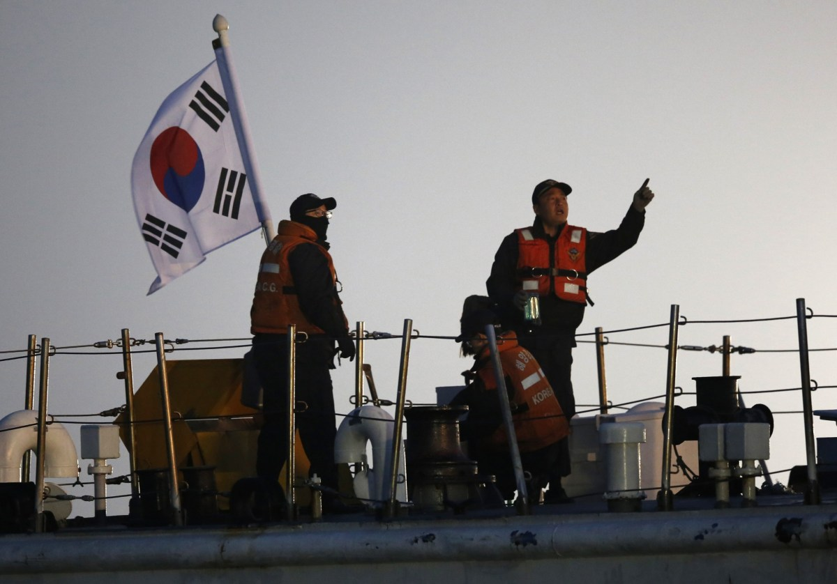 The South Korean coastguard is taking a tougher stand against illegal fishing. Photo: Reuters/Issei Kato
