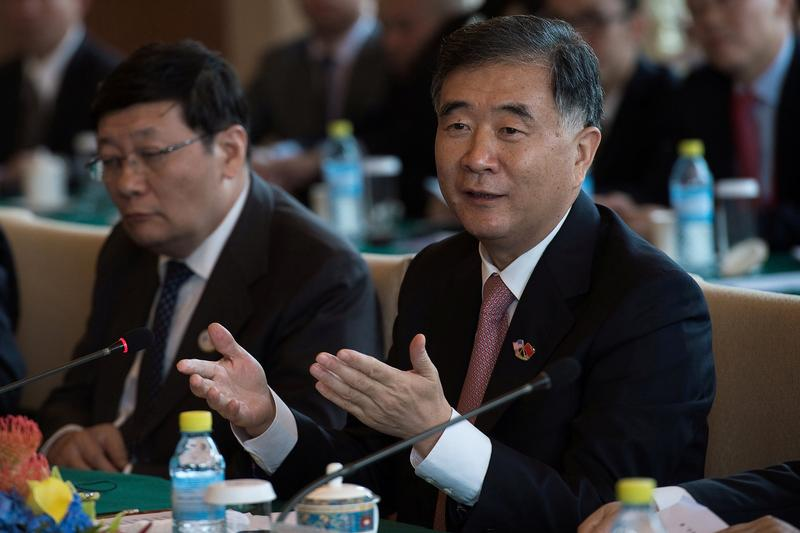 Chinese Vice Premier Wang Yang. Photo: Reuters/Nicolas Asfouri
