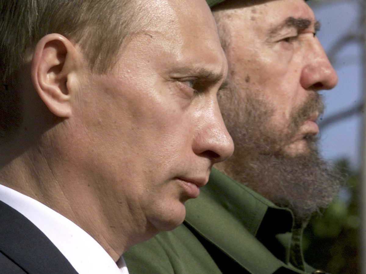 Putin revived the old Soviet alliance with Cuba. Photo: Reuters