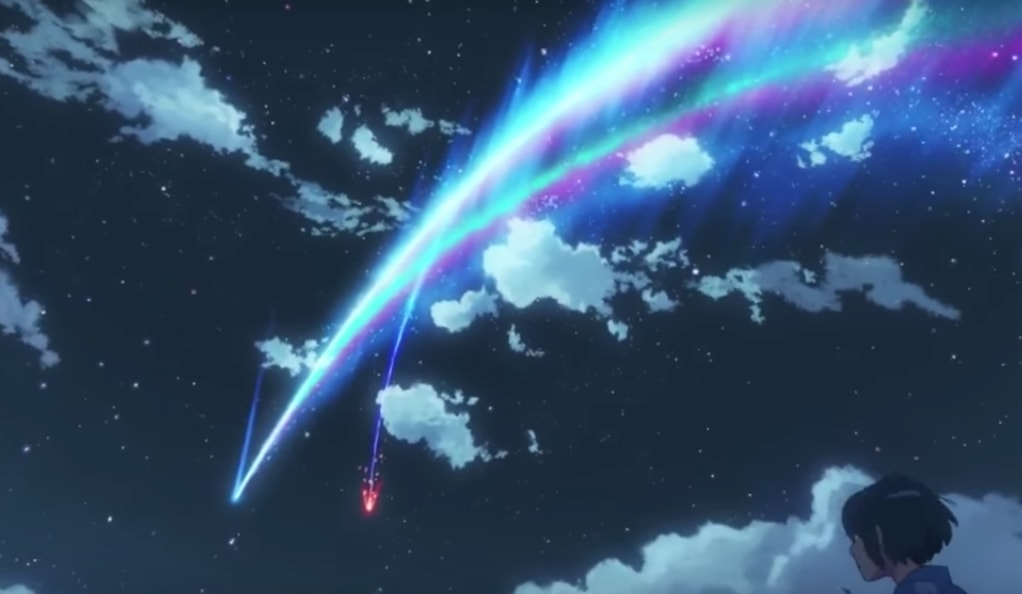Stellar path for Your Name continues. Photo: Your Name trailer