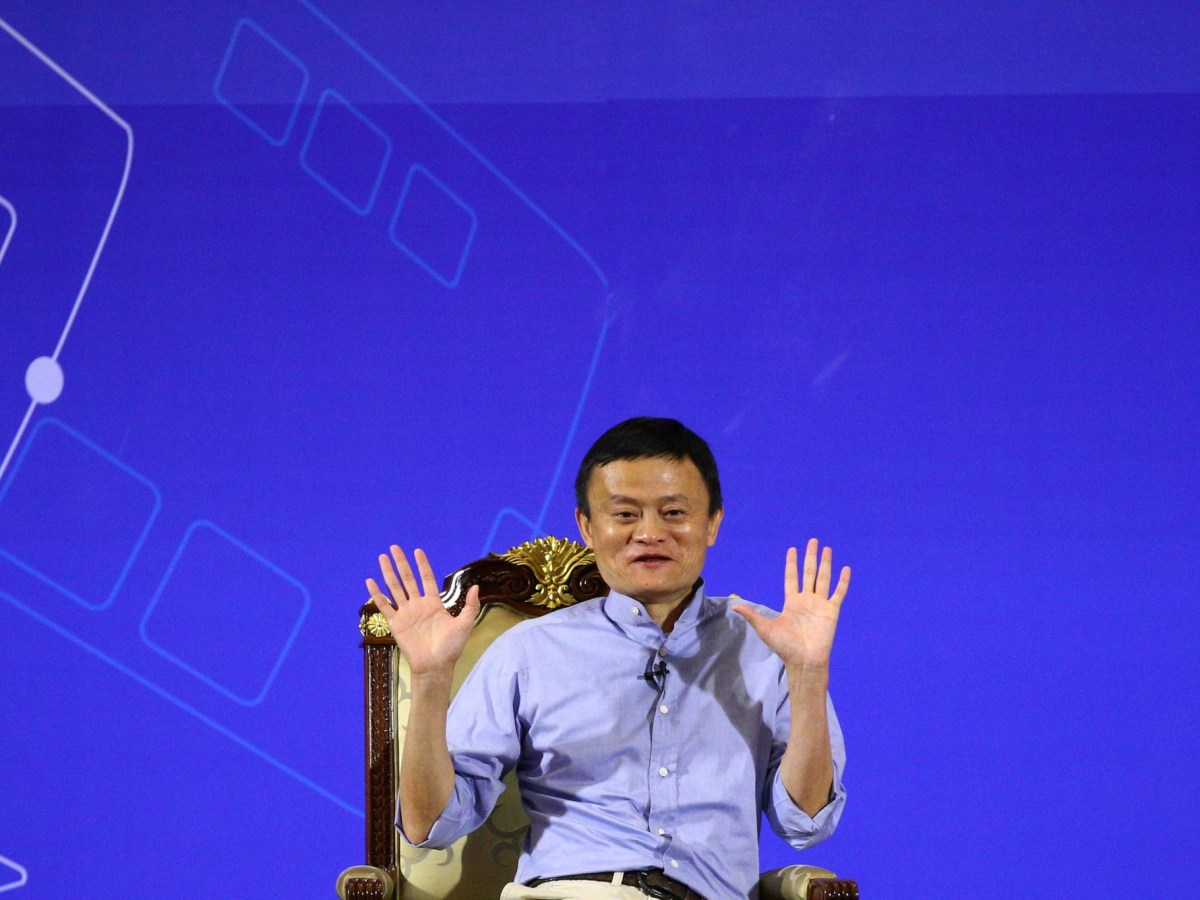 Jack Ma has finally upped the ante in Ant Financial's bid for MoneyGram. Photo: Reuters, Athit Perawongmetha