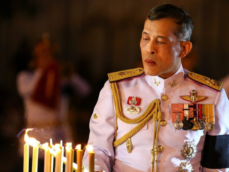 Thailand's Crown Prince Maha Vajiralongkorn. Photo: Reuters / Athit Perawongmetha
