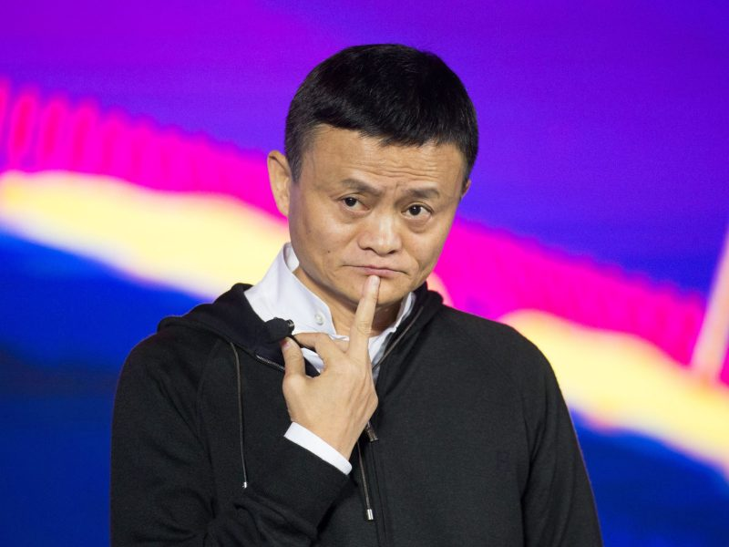 Alibaba founder Jack Ma. Photo: AFP