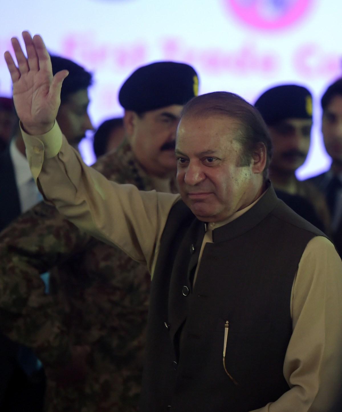 Pakistan Prime Minister Nawaz Sharif. Photo: AFP/Aamir Qureshi