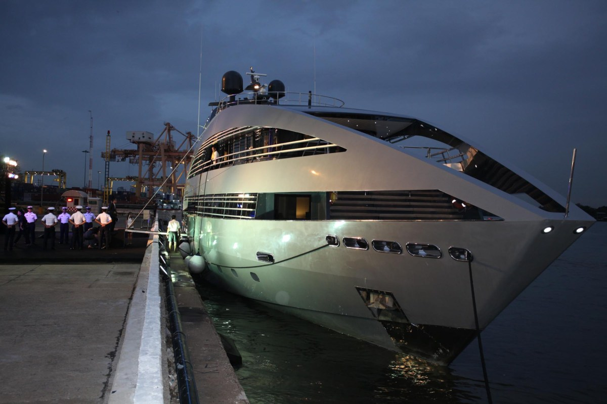 Phuket is an increasingly popular destination for the super-yacht crowd.Photo: Bangkok Post