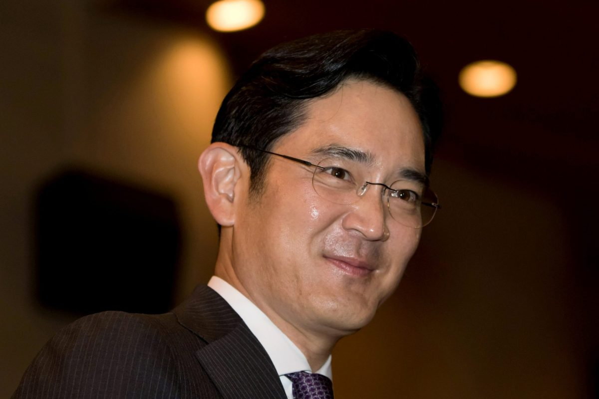 Jay Y. Lee of Samsung Electronics gets the spotlight
