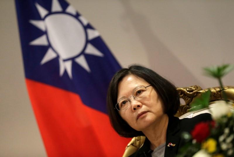 Taiwanese President Tsai Ing-wen. Photo: Reuters/Jorge Adorno