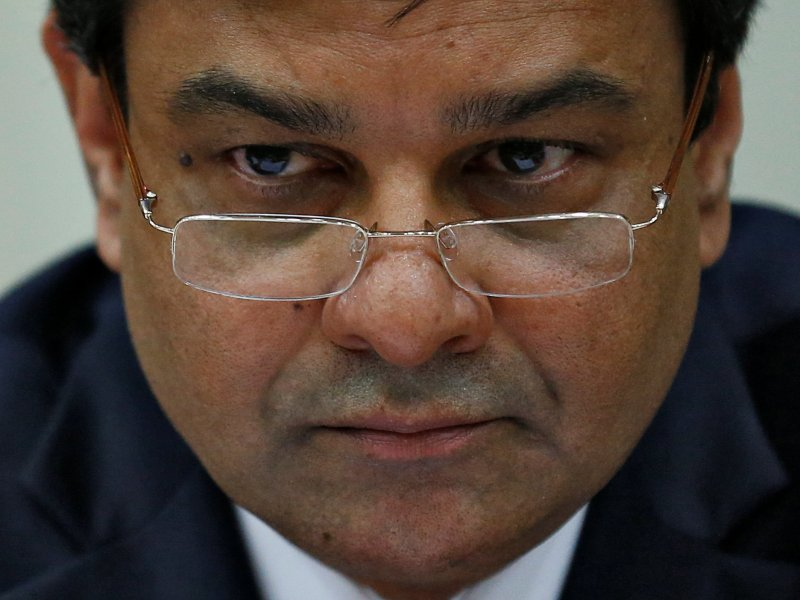The Reserve Bank of India Governor Urjit Patel attends a news conference after the bimonthly monetary policy review in Mumbai, India December 7, 2016. Reuters/Danish Siddiqui