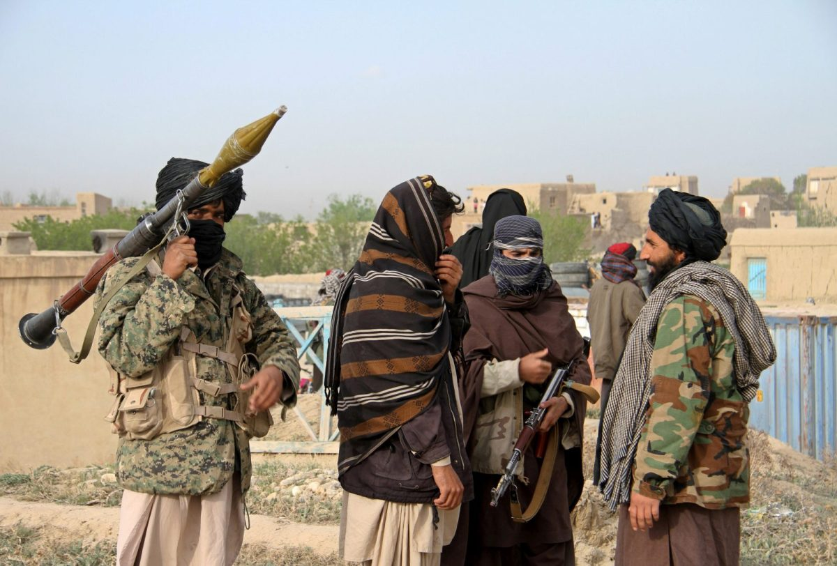 Members of the Taliban in Ghazni province, Afghanistan. File Photo: Reuters