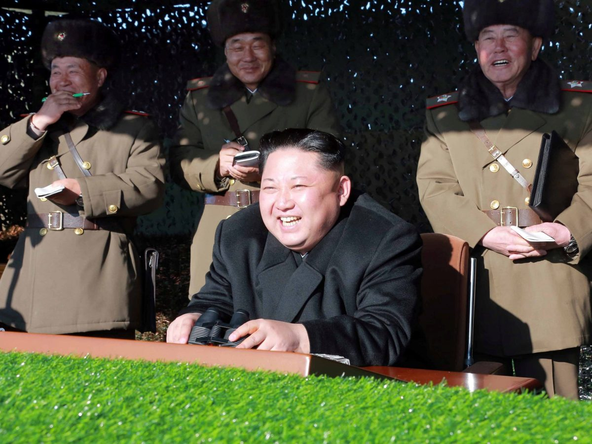 The Reconnaissance General Bureau, North Korea's equivalent to the CIA, stands accused of  creating the world's finest hackers who have allegedly struck more than 100 banks and crypto-currency exchanges around the world and made away with an estimated $650 million. Photo: KCNA via Reuters