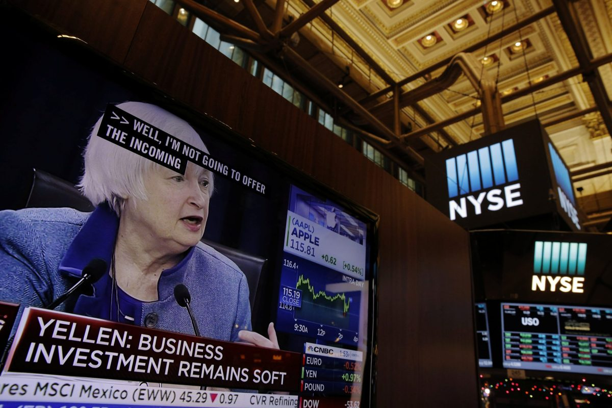Janet Yellen. Photo: Reuters/Lucas Jackson