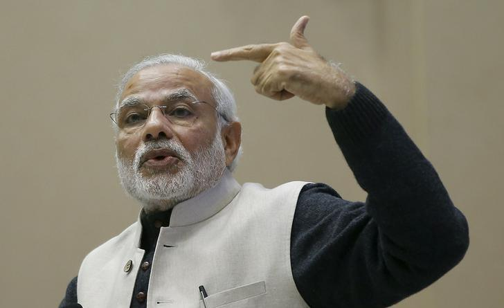 According to Indian Prime Minister Narendra Modi, corruption is the legacy of the Congress party, but a new book finds wide-ranging blame. Photo: Reuters/Adnan Abidi/Files