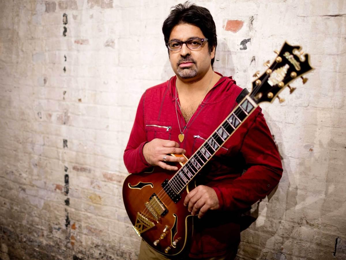 Jazz guitarist Rez Abbasi. Photo: John Rogers