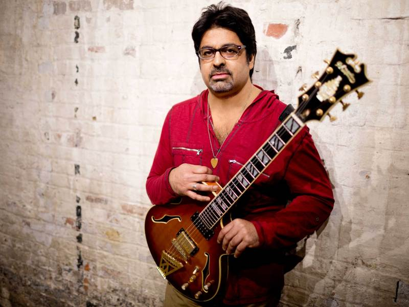 Jazz guitarist Rez Abbasi. Photo: John Rogers