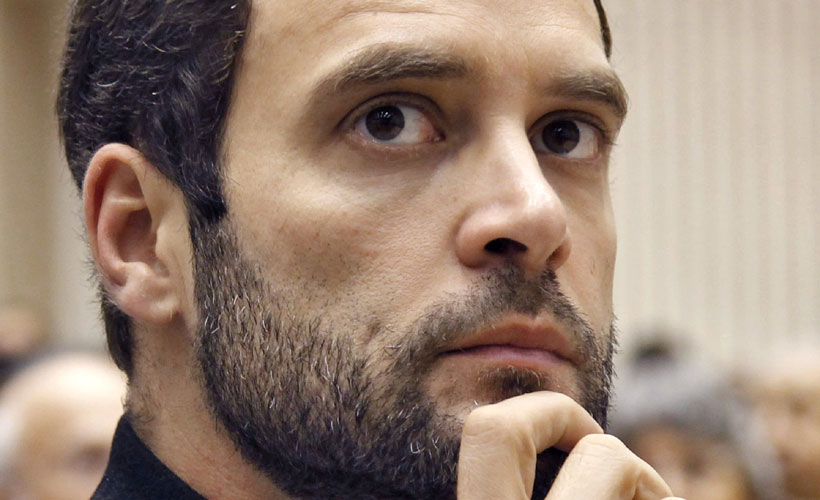 If Rahul Gandhi has papers to prove personal corruption of Indian Prime Minister Narendra Modi, he should reveal it to public. Photo/Reuters